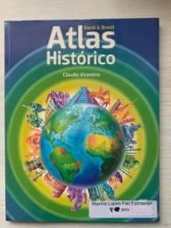Atlas Histórico Geral & Brasil. Claudio Vicentino