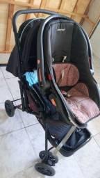 Título do anúncio: Carrinho+bebê  conforto       500.00