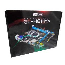 Placa Mãe Goline 1150 H81 Gl-h81-ma Ddr3 Hdmi processadores intel 4 geração