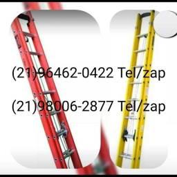 Escada de fibra 9,0 7,20 6,0 e 4,80 m na promoção