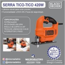 Título do anúncio: Serra Tico Tico  420W KS501 Black & Decker