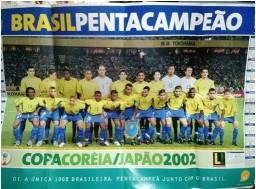 Pôster copa do mundo 2002
