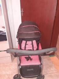 Título do anúncio: Um bebê conforto pouco usado, e um carrinho pouco usando novo