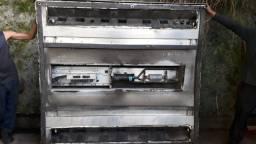 Equipamento de ar condicionado para ônibus.completo