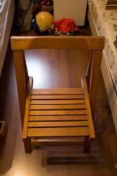 Título do anúncio: Cadeira em Madeira Marrom