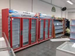 Expositor Auto Serviço Vertical Refrigerado