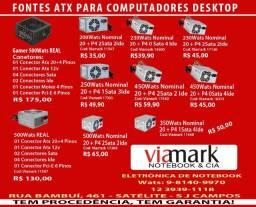 Título do anúncio: Fonte Atx para Computador Desktop