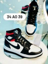 Tenis Jordan 34 até 42