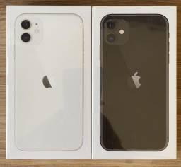 iPhone 11 64GB Preto Branco Novo Lacrado