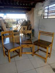 Título do anúncio: Cadeiras modelo rústico