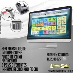 Sistema PDV Completo Premium , Gerenciamento De Estoque, Vendas, Clientes, Compras, Pdv