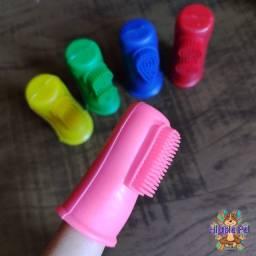 Escova dental de dedo PET