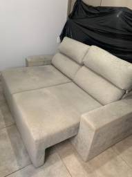 Título do anúncio: Sofá três lugares reclinável