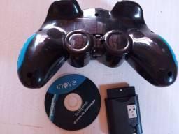 Controle game pad joystick para tv box.