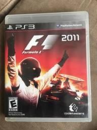 Título do anúncio: Jogo fórmula 1 2011 PS3