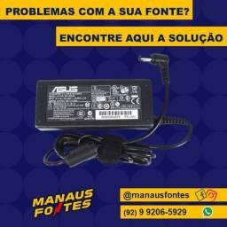 Carregador do Notebook Asus Ponta Fina