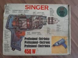 Furadeira Singer década de 80