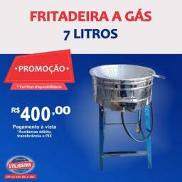 Fritadeira 7L a gás - Entrega grátis