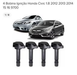Vendo 4 bobinas de ignição honda new civic 2012