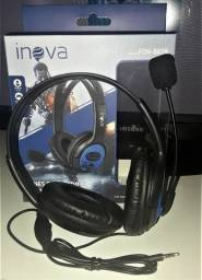 Fone Gamer Headset Inova Fon-8619 PS4/X-ONE/Celular
