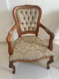 Cadeiras modelo Luiz XV