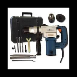 MARTELETE rompedor / furadeira alto impacto 620 wats com maleta e acessórios