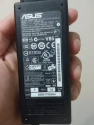 Carregador Notebook Asus ADP 65JH 19 V 3,42 Amperes passo cartão