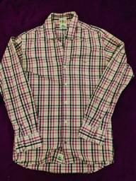 Camisa Xadrez Lacoste