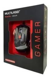 Mouse Gamer Óptico Multilaser 2400Dpi (ENTREGA GRÁTIS)