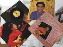 Coleção de LPs em vinil
