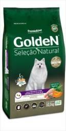Vendo Golden seleção Natural 10kg Raças pequenas por 105,00