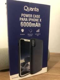 Capa carregadora(power case) IPHONE X