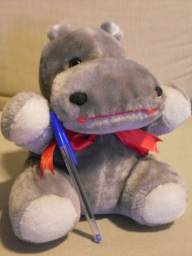 Pelúcia hipopótamo