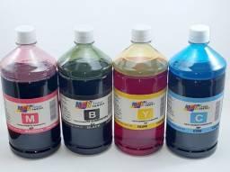 Título do anúncio: Kit Com 04 Tinta Universal   Para  Impressora HP