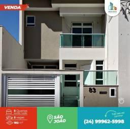 Vende-se Casa no Bairro São João - Volta Redonda