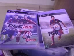 Fifa 15 e PES 2010 original para PS3