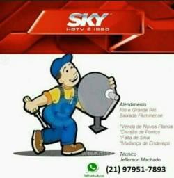 Tecnico Instalador, Sky, Claro, Oi