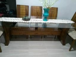1 mesa 10 cadeiras