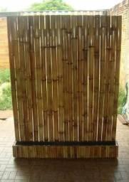 Painel de bambu japonês ,para plantas e orquidias