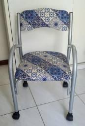 Cadeira para computador com rodinhas