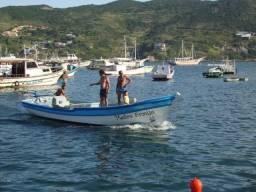 Barco de madeira motor MWM 3 com reversor ZF 3/1 - 2014