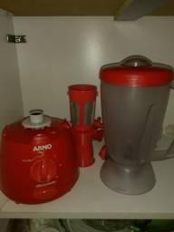 Liquidificador Arno 400w 3 velocidades Com Torneira