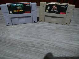 Cartuchos de Super Nintendo Originais