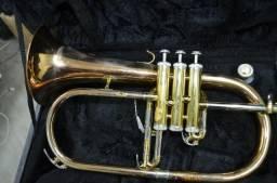 Trumpete Fluguelhorn Condor CFH-193 (Queima de Estoque)