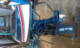 Vendo motor de polpa 2 tempos - 1987