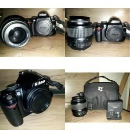 Câmera Profissional Nikon