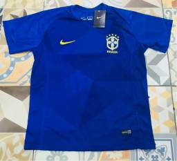 Camisa brasil 2018 importada sem nome