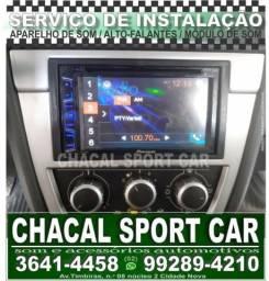 Serviço Técnico de Instalação de equipamento de som automotivo