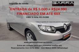 Sandero 2016 ENT : 1.990,00 + 899,90 gnv pronta entrega - 2016