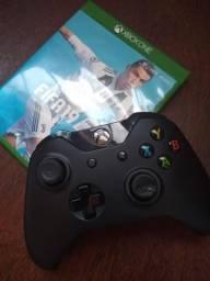 Controle Xbox one+FIFA19